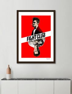 Discover «Fight Club», Exclusive Edition Fine Art Print by Paola Morpheus - From 23€ - Curioos