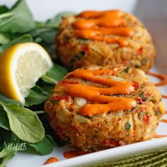 Baked Lump Crab Cakes with Red Pepper Chipotle Lime Sauce Recipe - ZipList.... The baked crab cakes are out of this world! You'll think they came from a high end restaurant.