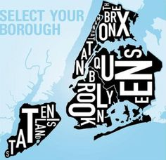 12 Best The 5 Boroughs of NYC images in 2012 | New York City ...  Boroughs Map New York City on