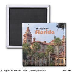 St. Augustine Florida Travel Photo Fridge Magnet