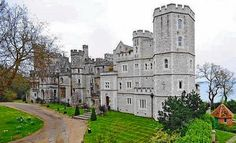 Netley Castle, nr Southampton, Hampshire. 1542 coastal fortification remodelled and added to by J.D. Sedding, 1885-9, for the Hon. H.G.L. Crichton. Now divided into apartments.