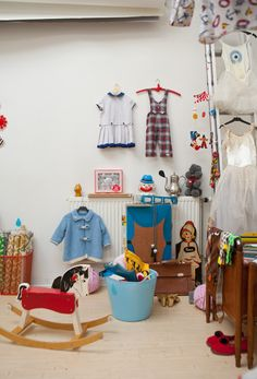 i cant tell if this is a real little girls room, or a dollhouse! thats how i want my little girls room to be ( if i ever have one )