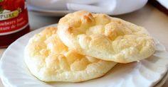 Um pão leve e aerado, sem glúten e sem carboidratos, que vai fazer bater mais…