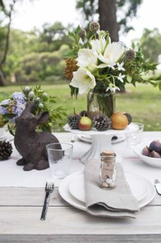 Interior Styling, Table setting by Meghan Plowman