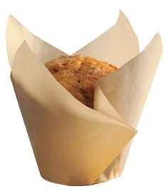 Hoffmaster 611121 Tulip Cup Cupcake WrapperBaking Cup 214 Diameter x 4 Height Large Natural 4 Packs of 250 >>> See this great product.(This is an Amazon affiliate link and I receive a commission for the sales)