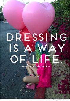 Dressing is a way of life | YSL.  Discover and shop your favorite fashions right on your phone. Download our app at getrockerbox.com.