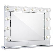 Impressions Hollywood Reflections™ Plus Clear Vanity Mirror