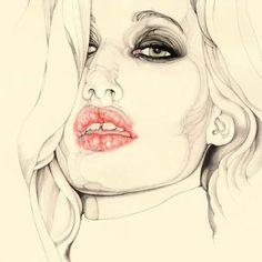 portrait illustration by Carmen García Huerta