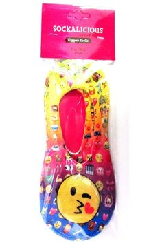 Super fun ankle socks from Confetti and Friends! One-size fits most. Non-skid bottom. - Brand: Confetti and Friends - Socks, Accessories - Material: 100% polyester - Wash with like colors to avoid col