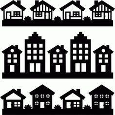 Silhouette Design Store   View Design #72284: House Borders Set