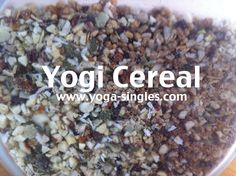 Yogi Cereal - #Vegan #GlutenFree