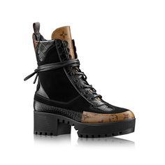 Desert Boot Laureate Femme Souliers   LOUIS VUITTON €890 Chaussure De Luxe  Femme, Placard a55e39bb9a7