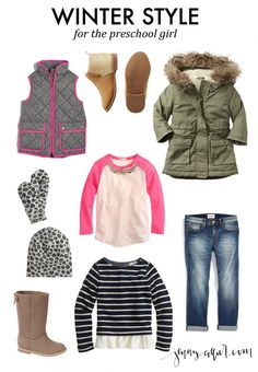 Winter Outfit for the Preschool Girl