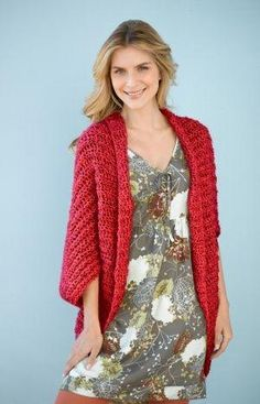 Simple Shrug: free pattern by leonor