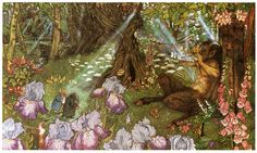 Piper At the Gates of Dawn. Wind in the Willows, illustrated by Michael Hague