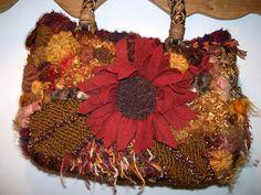 freeform bag by janrocrochet, via Flickr