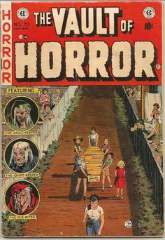 Vault of Horror #33 Golden Age Comic Book EC Comics 1953 --1st series & print