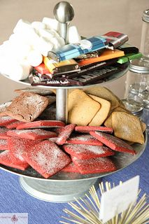 S'mores Bar for the Fourth of July Party
