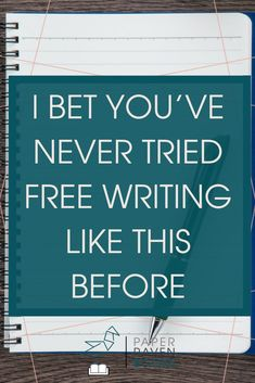 I want to re-introduce a concept that you probably already think you know how to do: free writing. But there is probably more to it than you think! The habit of free writing could transform your writing life. Learn how in this post.
