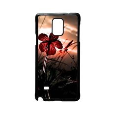 the Flower for phone case Samsung Galaxy Note 2/3/4/5/note