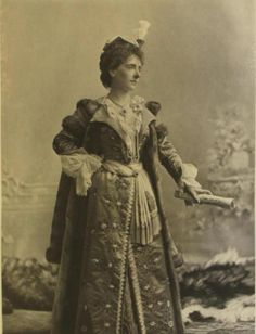 Lady Fitzgerald as Marie Josephe Queen of Poland