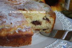 Torta ricotta e nutella I manicaretti di nonna Lella http://blog.giallozafferano.it/graziagiannuzzi/torta-ricotta-e-nutella/