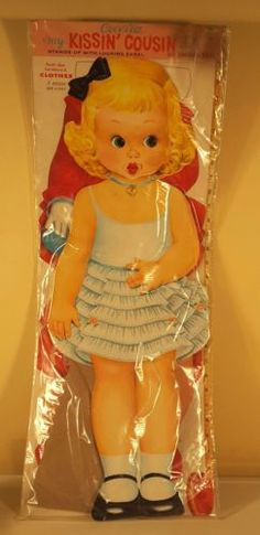 Vintage-1960-039-s-Cecelia-My-Kissin-Cousin-30-034-Paper-Doll-5-Outfits-30-034-NEW-SEALED