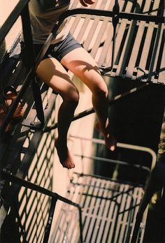 """""""Just one of the many things NY-ers really do fear -- this metal death trap, aka the fire escape."""""""