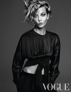 Vogue Oktober 2014: Keeping up with Karlie. Photographer: Alique, Styling: Saskia van Langevelde.