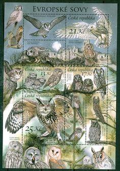 Czech Republic - Nature Protection Owls, 2015