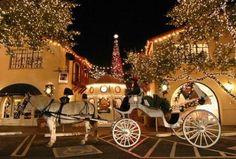 Highland Park Village at Christmas!  Dallas, TX