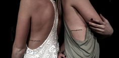 "Sister tattoo  ""promise, promise."""