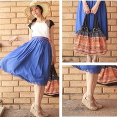 This is one of my favorites on www.koogal.com.au: ARIANA CIRLE PLEATED SKATER SKIRT