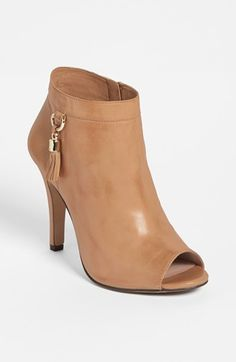 Vince Camuto open toed booties