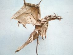 Test fold of the Alduin by Kamiya Satoshi folded by Artur Biernacki by Arturori