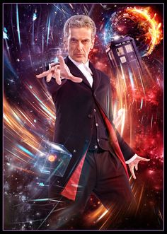 DOCTOR WHO - Peter Capaldi 12th Doctor A3 poster in Collectables, Science Fiction, Doctor Who | eBay