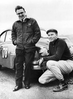 Erik and Stuart Turner 1961 RAC
