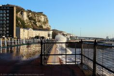 Panoramio is no longer available Dover Castle, White Cliffs Of Dover, Premier Inn, Kent England, Walkway, Planet Earth, Brooklyn Bridge, Tourism, Waves