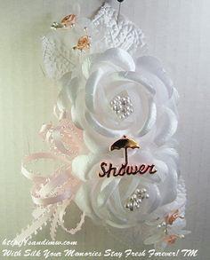 baby shower corsage | pretty baby baby shower silk flower wrist corsage enlarge more details ...
