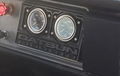Just a cool interior shot from JCCS. Monday is over people. Hope you enjoy the rest of your week. Tag the owner. Tag a friend. What's in your garage?  #datsun #jccs #carshow #datsungarage #gauges #datsun1400 #gtr