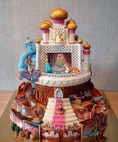 this is an incredible Aladdin cake!