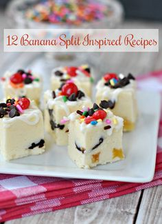 August 10 is Banana Split Day: Banana Split Recipes