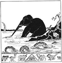 L'Enfant d'éléphant in Histoires comme ça, Rudyard Kipling, 1902