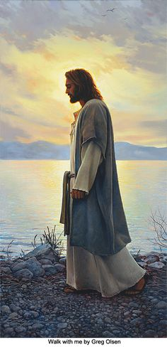 Walk With Me | Artist: Greg Olsen
