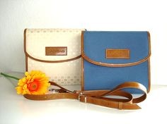 Transformable Cross Body Bag   Canvas and Leatherette by BAGoBAG, $80.00