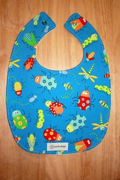 What's Bugging You : Plastic Lined Bib.