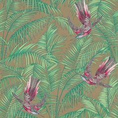Sunbird wallpaper by Matthew Williamson