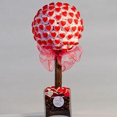 personalised haribo heart marshmallow tree by sweet trees… Marshmallow Tree, Candy Trees, Bar A Bonbon, Strawberry Hearts, Sweet Trees, Chocolate Bouquet, Chocolate Drizzle, Candy Bouquet, Ideas