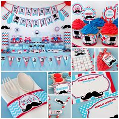 A Mustache Themed Baby Shower For The Little Man On The Way    Owlie Powlie