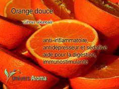 L'huile essentielle d'orange douce vous apportera calme et repos. Sa douce odeur vous transportera en diffusion. Utilisez sa note de tête en olfaction ! Diffusion, Zoom, Fruit, Orange Essential Oil, Rest, Calm, Universe